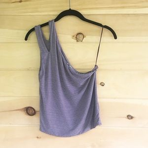 American Eagle first essentials one shoulder top